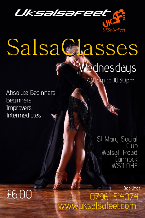 Cannock Beginners Salsa Classes