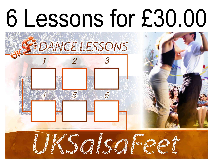 Cannock cheap salsa lessons