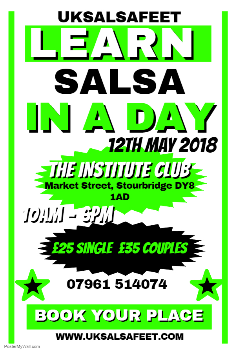 Salsa lessons for beginners in Kingstanding / Perry Common / Perry Barr