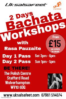 Bachata workshop in Burton on Trent