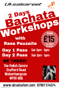 Sutton Coldfield bachata lessons
