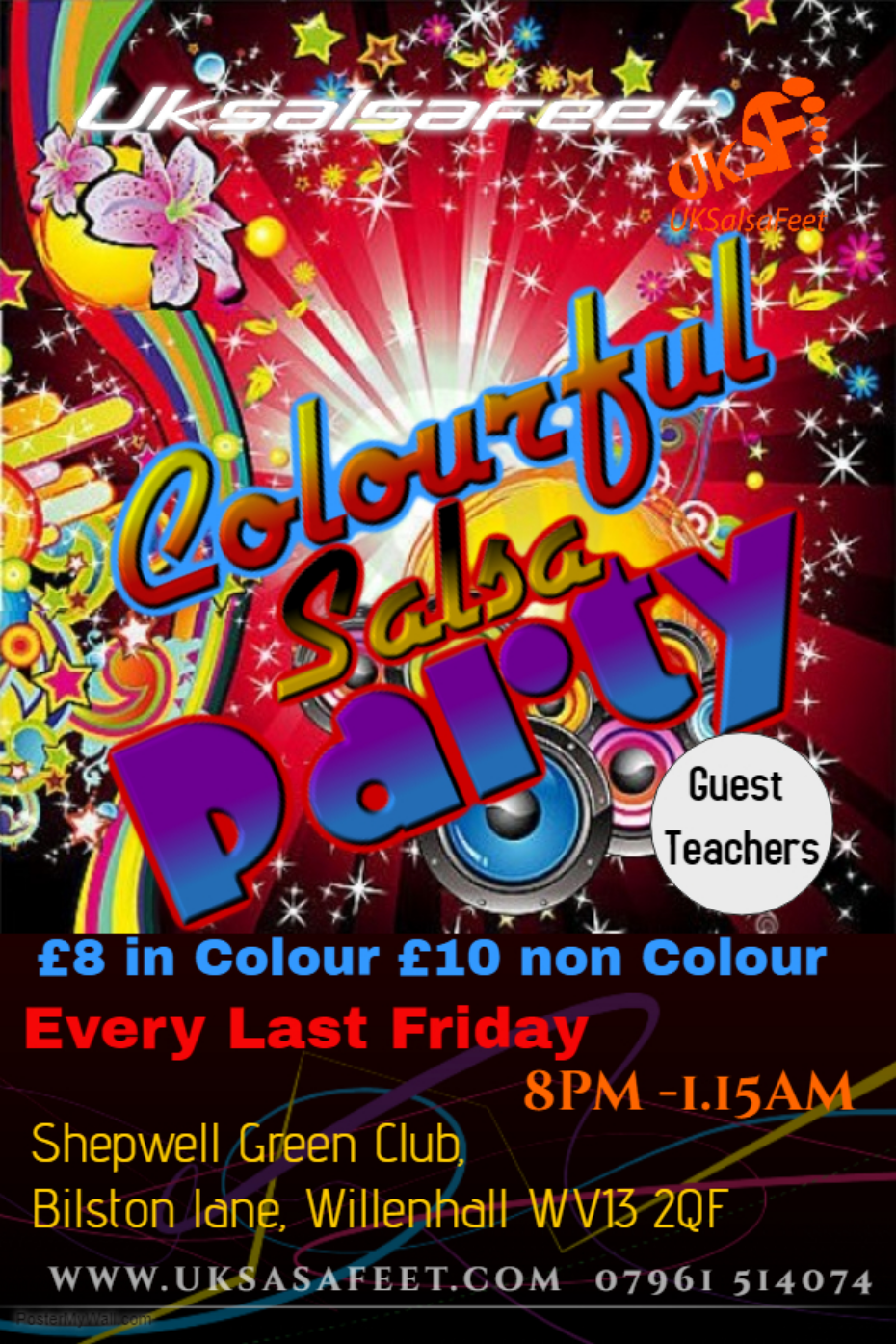 Salsa party in Walsall