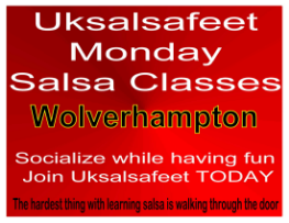 Fun friendly salsa classes in Wolverhampton
