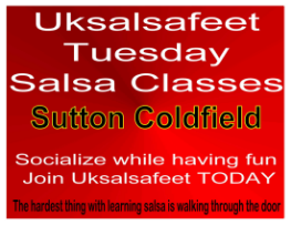 fun friendly salsa classes in Sutton Coldfield