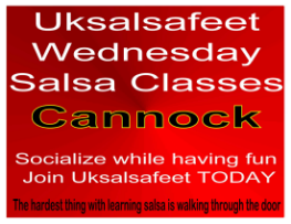 salsa classes near Cannock