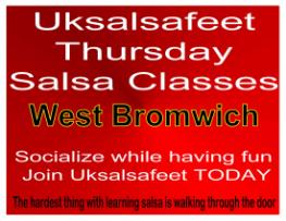 Fun friendly salsa classes in West Bromwich