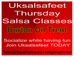 fun friendly salsa classes in Burton On Trent