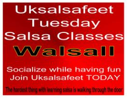 fun friendly salsa classes in Walsall
