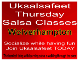 Salsa classes near Wolverhampton on Thursday