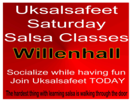 Fun and Friendly salsa classes in Willenhall