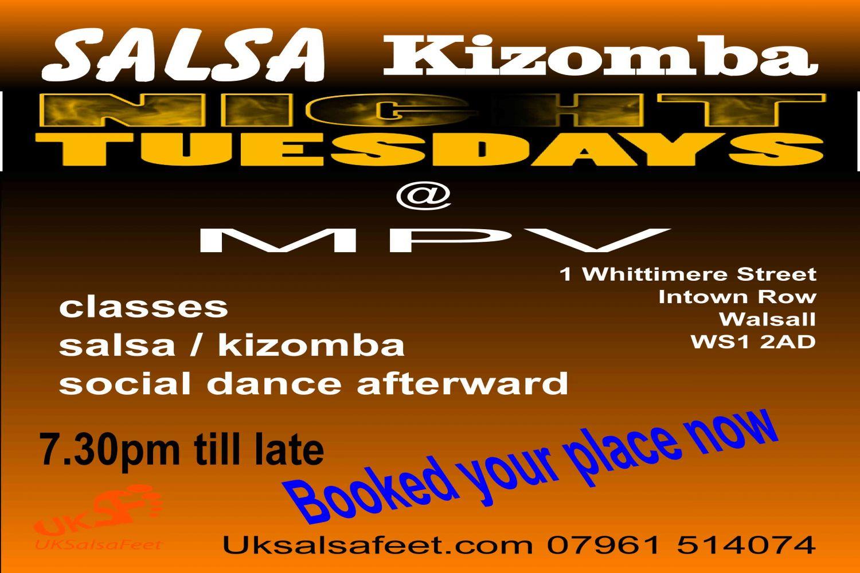 walsall salsa & kizomba course