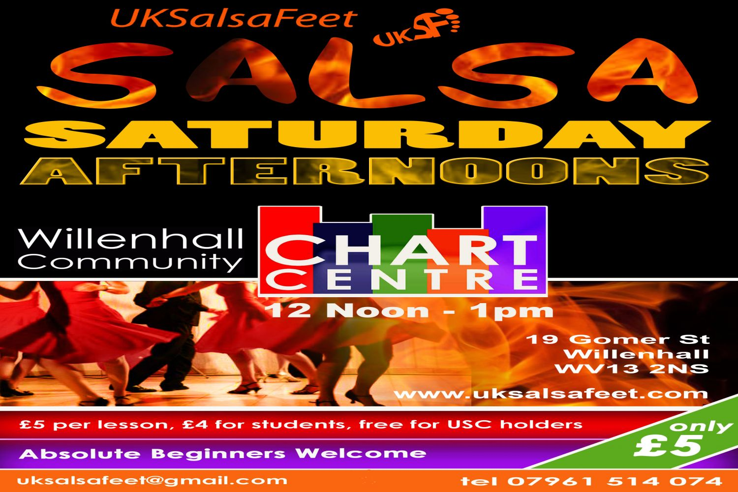 willenhall salsa