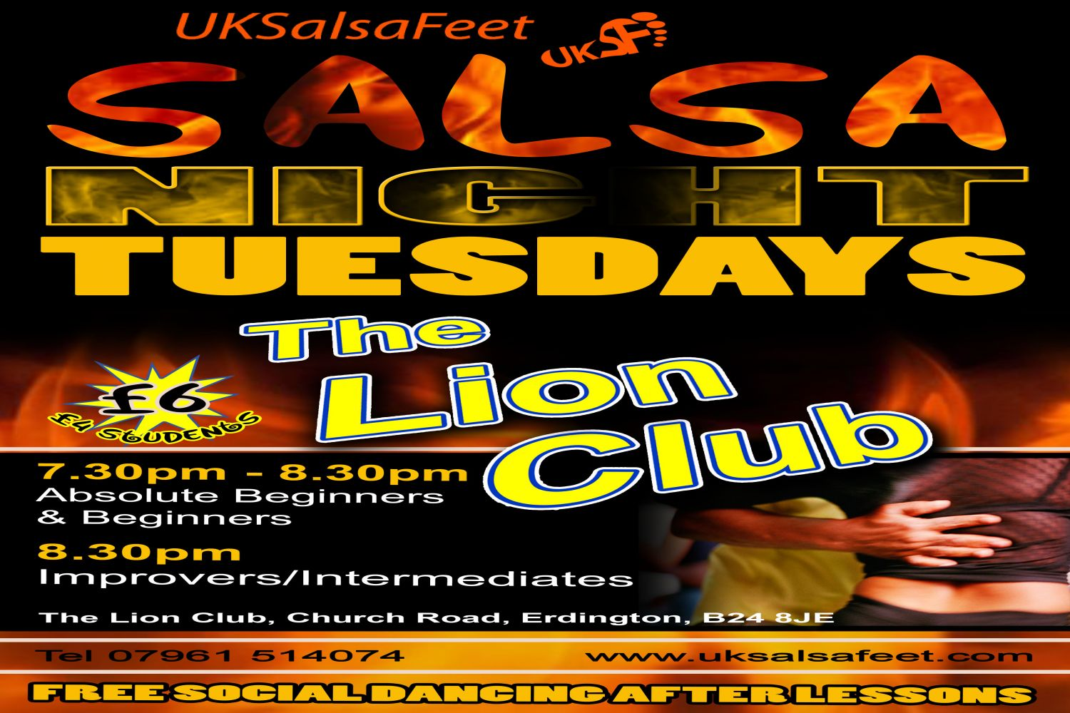erdington salsa classes