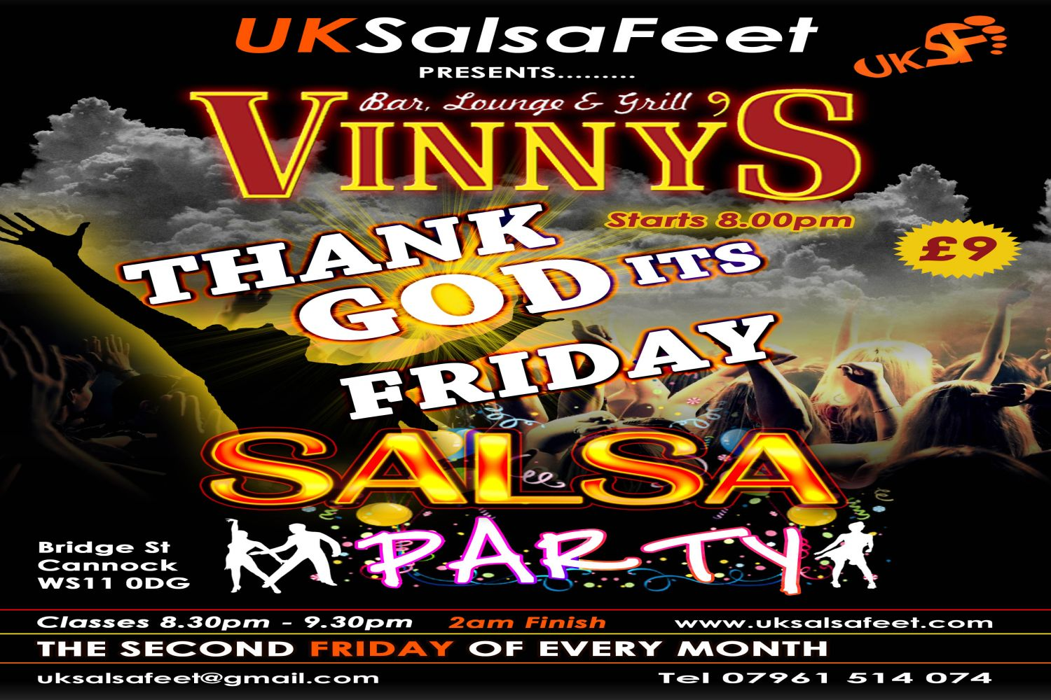 salsa party cannock