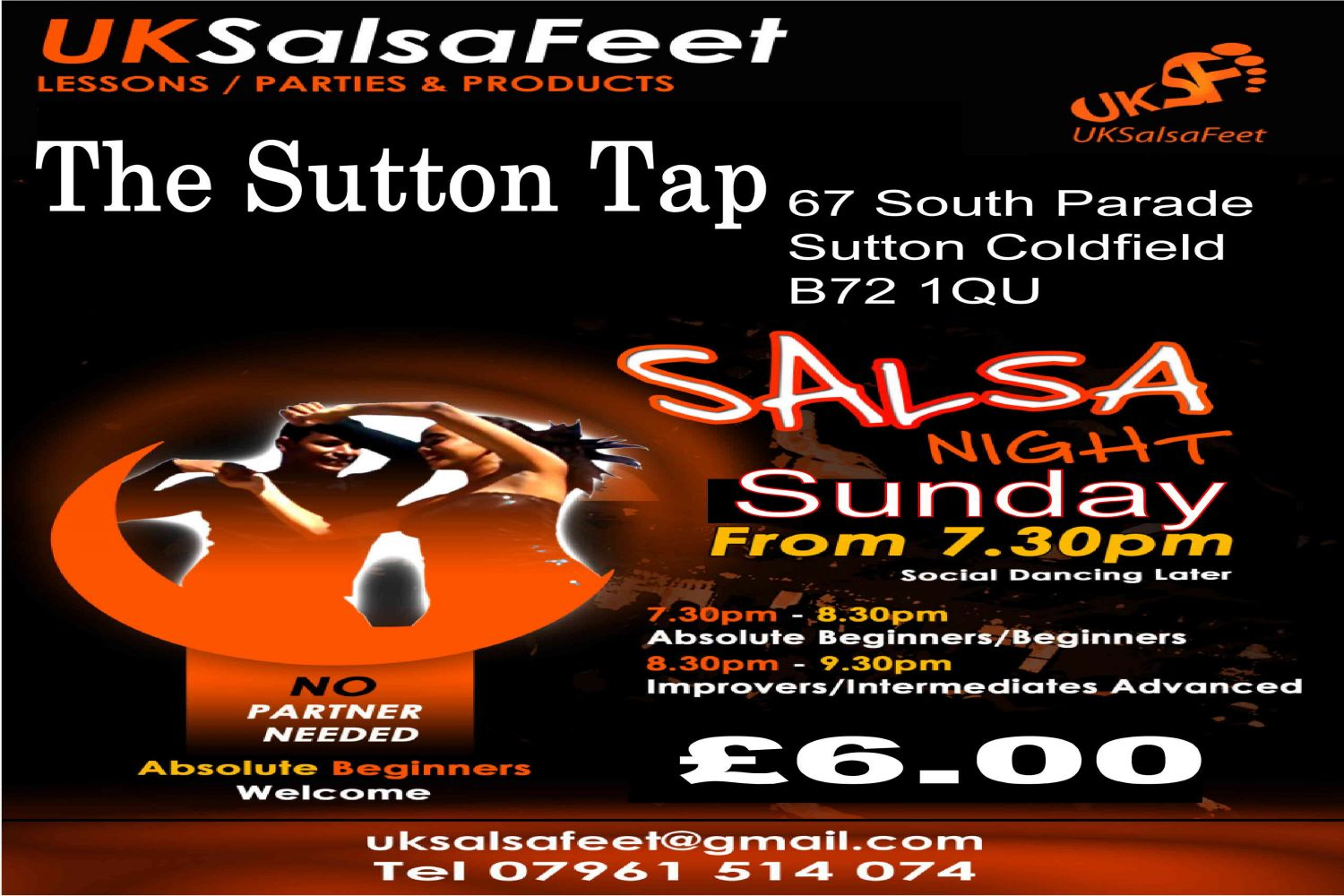 sutton coldfield salsa